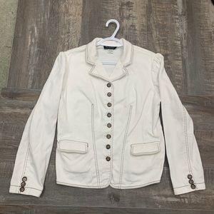 🌻3/20 Nygard Weekend cute white jean jacket